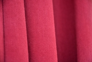 Red Curtain Fabric