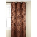 Copper Colored Olympia Jacquard Grommet Panel