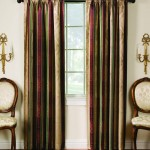 Review of Arlee's Tuscan Stripe Thermal Backed Curtain